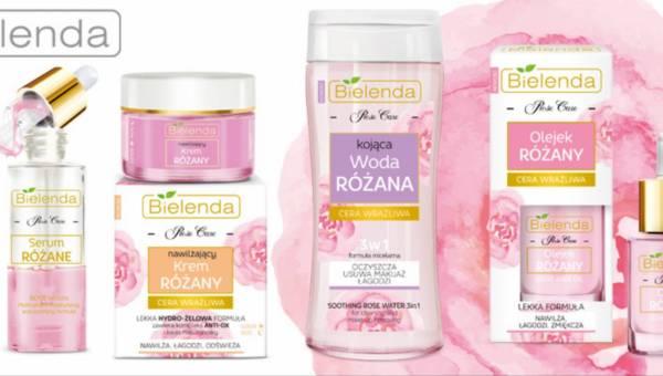 Różana seria kosmetyków Bielenda Rose Care