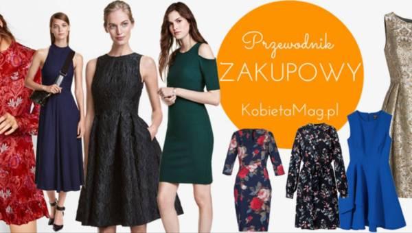 Przewodnik zakupowy: Modne sukienki na święta