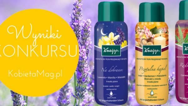 Wyniki konkursu: Aromatyczna jesień z Kneipp