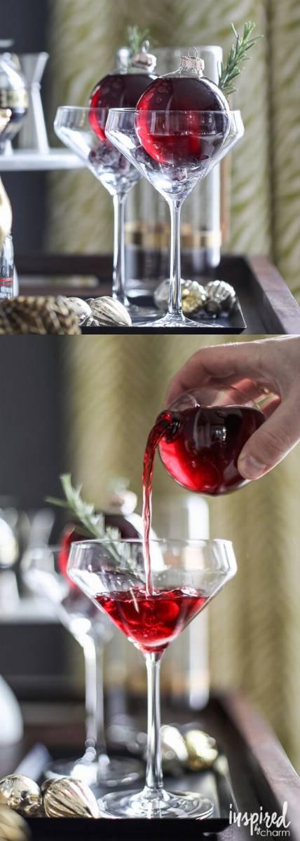 jak udekorować drinki na sylwestra