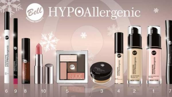 Sylwestrowy konkurs: Makijaż Glamour z marką Bell HYPOAllergenic – odsłona 4: Focus na … kosmetyczne prezenty