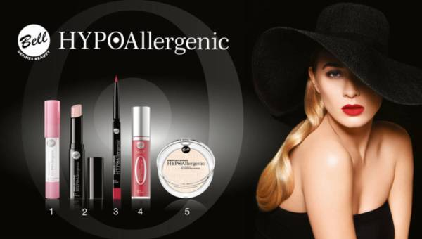 Wyniki konkursu: Makijaż Glamour z marką Bell HYPOAllergenic