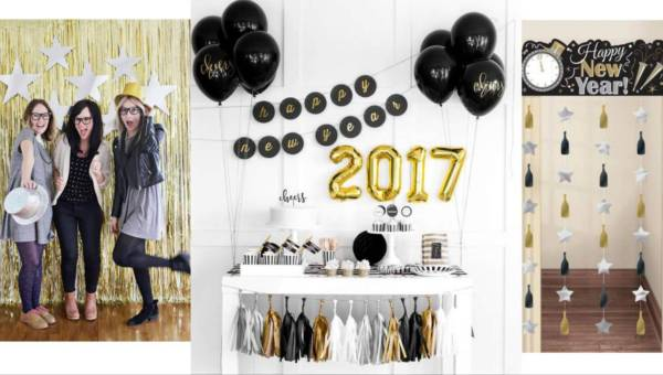 Jak ozdobić dom na Sylwestra 2017?