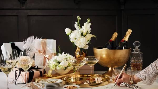Sylwestrowy stół w stylu Wielkiego Gatsby'ego