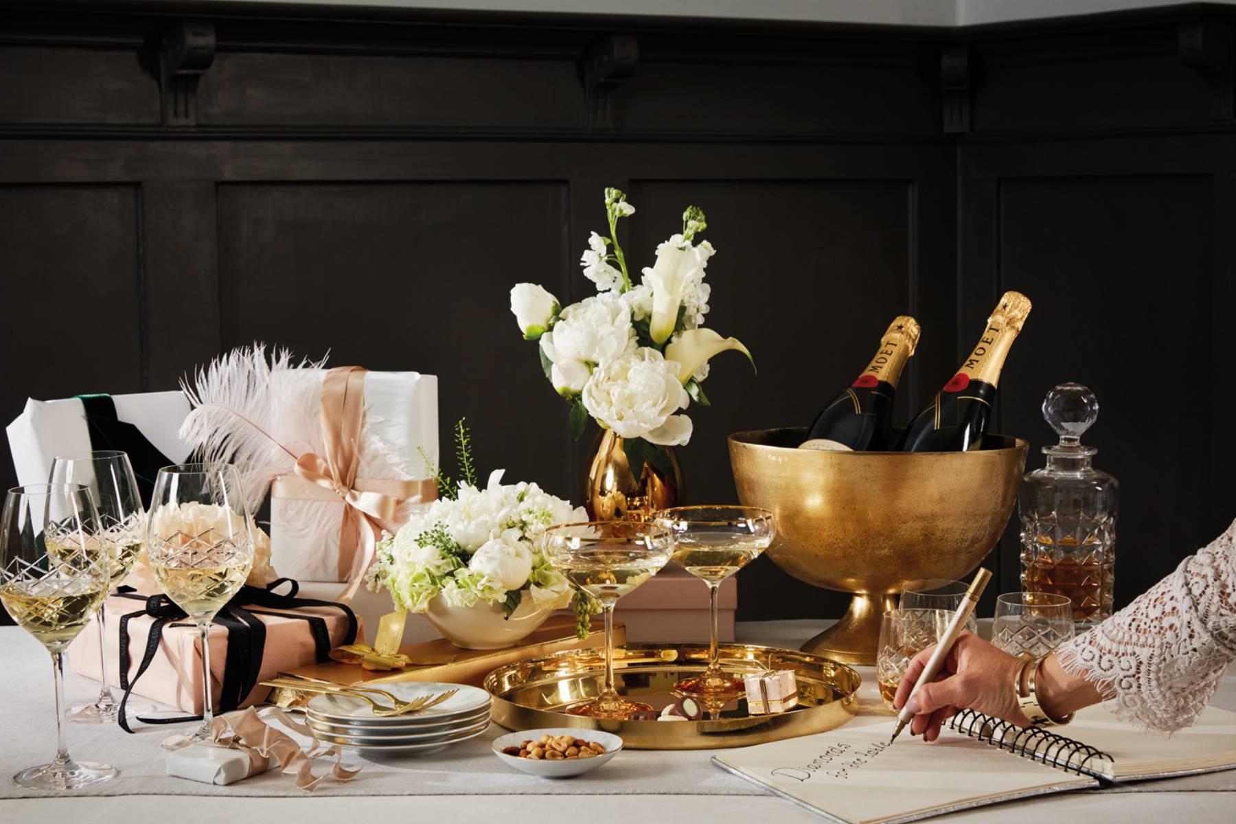 sylwestrowy stół
