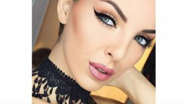 Modny manicure i makijaż na Sylwester i karnawał