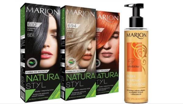 Włosy naturalnie piękne z nowymi kosmetykami Marion!