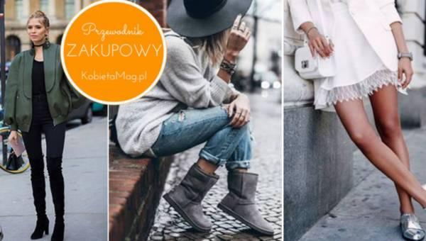 Shoppingowy mini-przegląd: Wybieramy modne buty na różne okazje