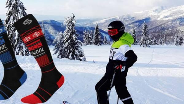 Ski Thermowool Deodorant® – podkolanówki narciarskie z wełny merynosowej