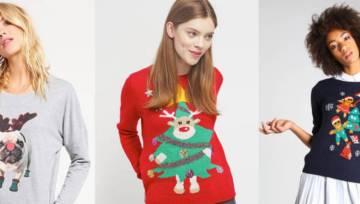 Shoppingowy przegląd: zabawne świąteczne sweterki