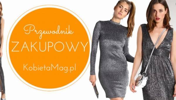 Przewodnik zakupowy: srebrne sukienki na karnawał 2017 i Sylwestra!