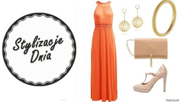 Propozycje dnia – stylizują nasze czytelniczki: Sukienki w tonacji pomarańczy