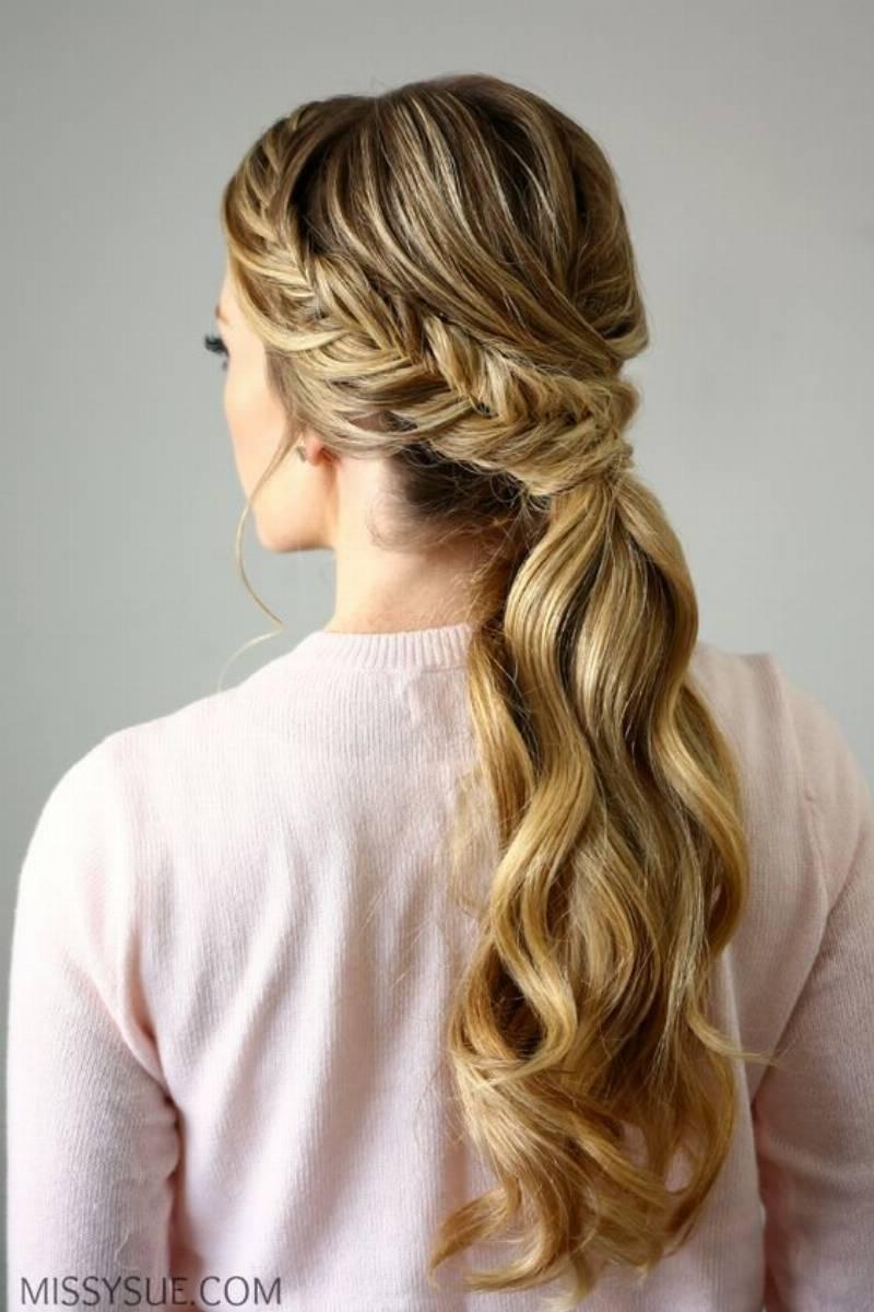 Фото причесок на длинные волосы с косой