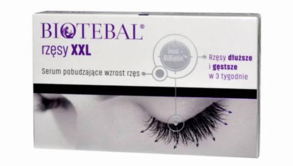 Biotebal rzęsy XXL – serum pobudzające wzrost rzęs