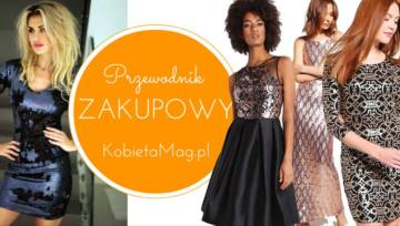 Shoppingowy przegląd – sukienki z cekinami do 500 zł!