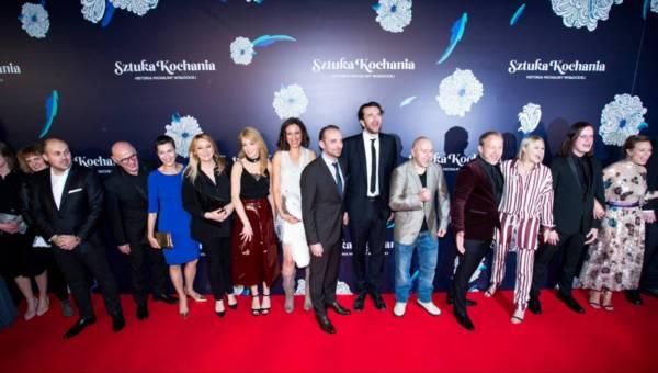 """Gwiazdy i celebryci na premierze filmu """"Sztuka kochania"""""""