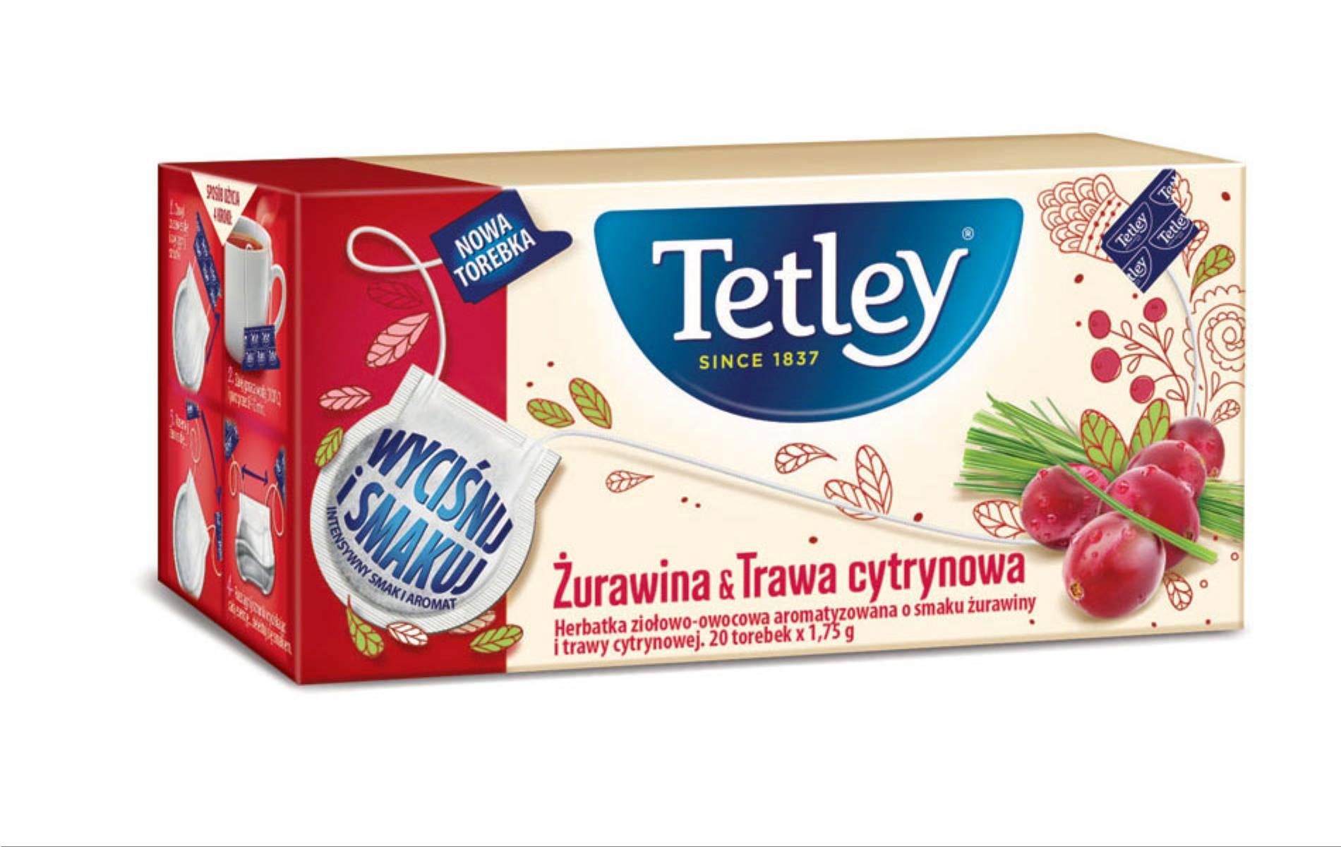 herbatki Tetley