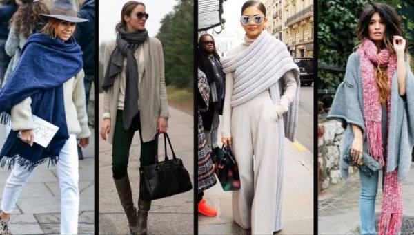 Jak wiązać szalik, by było ciepło i modnie?