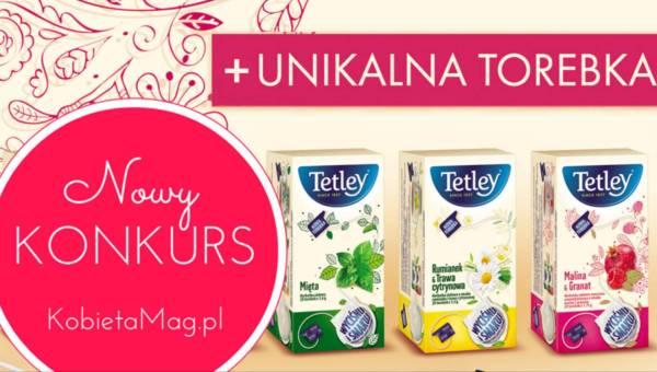 Konkurs: ziołowo-owocowe herbatki Tetley na długie wieczory!