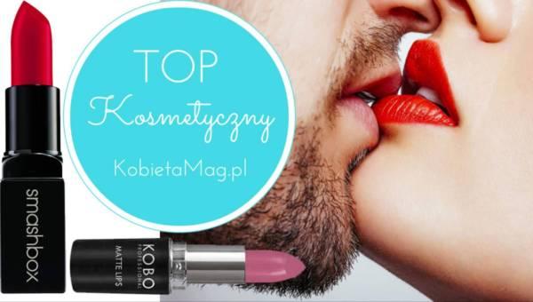 Kosmetyczny TOP: Szminki, które nie rozmazują się podczas pocałunku