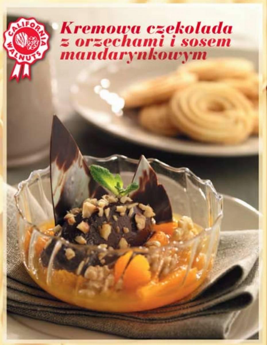 Kremowa czekolada z orzechami