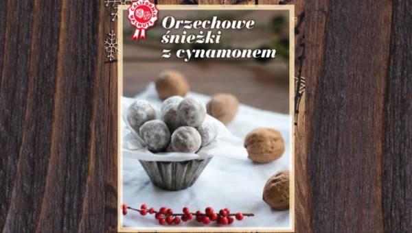 Łatwy i szybki deser: Orzechowe śnieżki z cynamonem