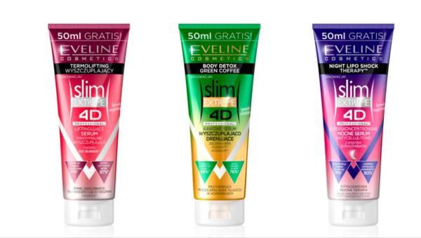 Nowość: innowacyjne serum wyszczuplające 4D od Eveline