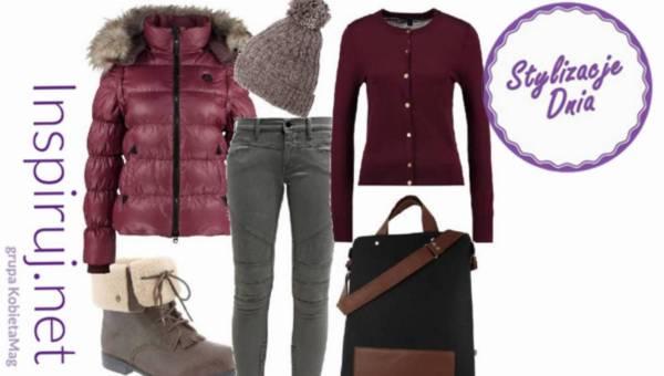 Propozycje dnia – stylizują nasze czytelniczki: Zimowy spacer