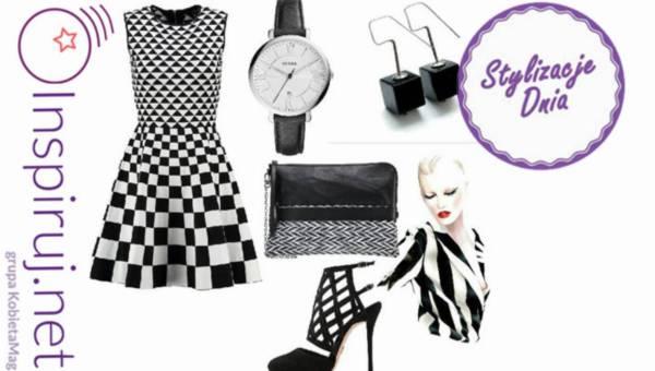 Propozycje dnia – stylizują nasze czytelniczki: Monochromatyczna sukienka