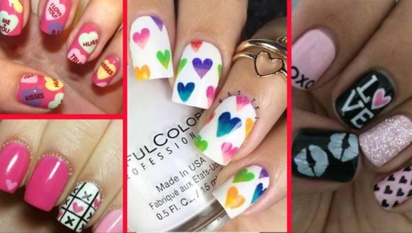 Walentynkowy manicure 2017 – pomysły i inspiracje!