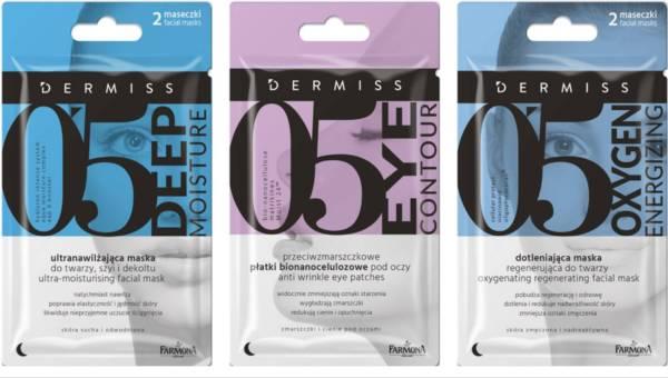 Nowe płatki i maseczki Dermiss dotlenią, nawilżą i uchronią Twoją skórę przed zmarszczkami!