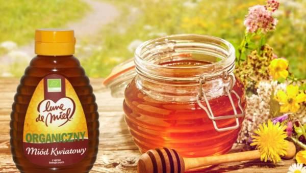 Słodycz może być bio! Poznaj organiczny miód kwiatowy Lune de Miel!