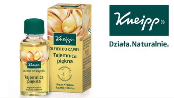Tajemnica piękna, czyli nowy olejek do kąpieli Kneipp!