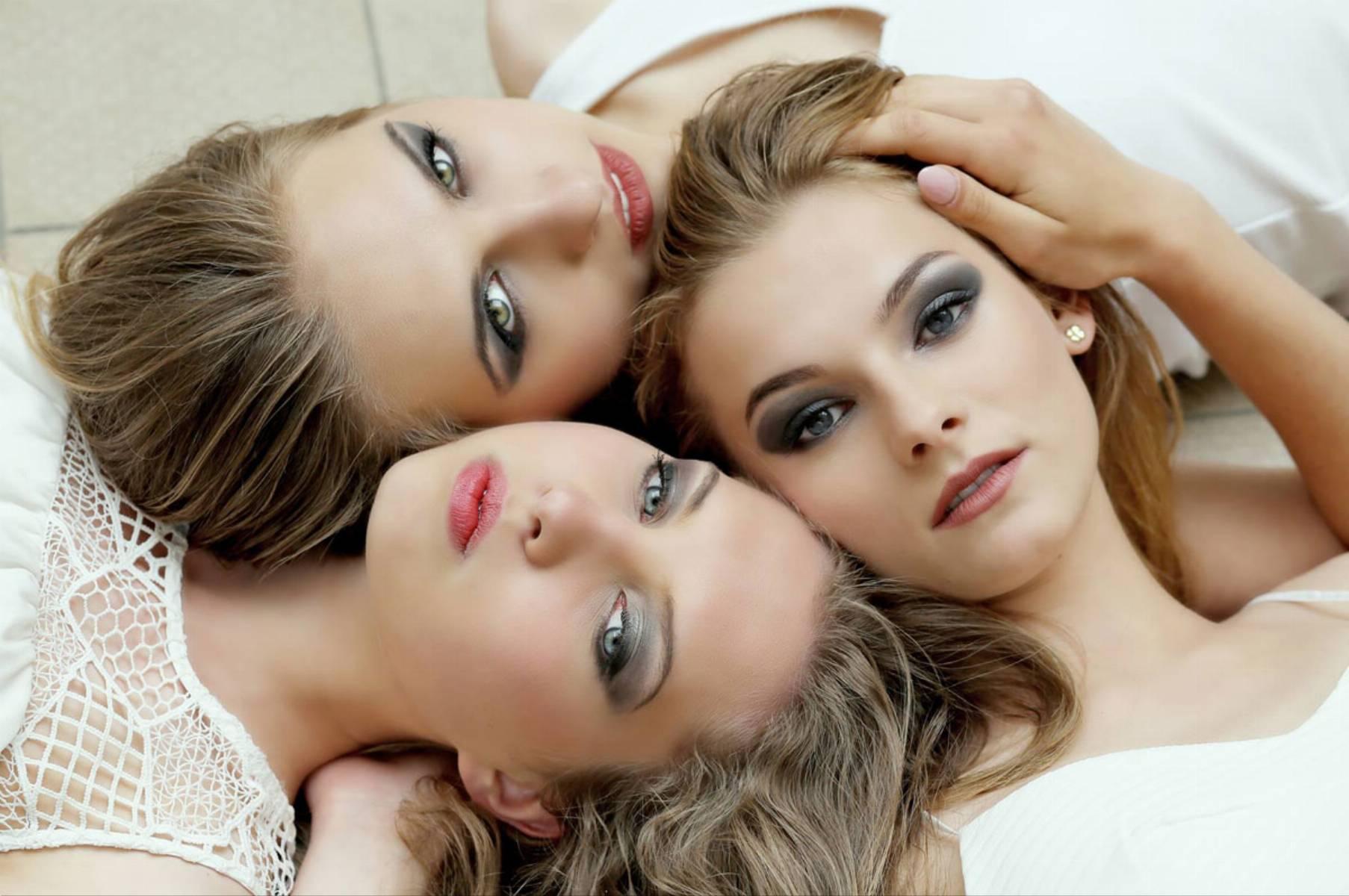 Jak uwieść faceta wyglądem _ 3 piękne kobiety