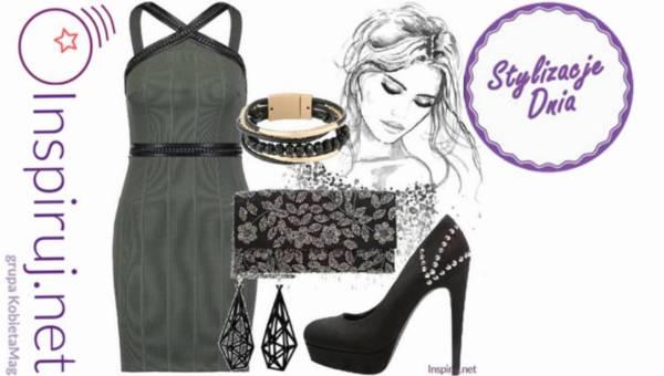 Stylizacje dnia z Inspiruj.net – Żegnamy karnawał w sukience na ramiączkach