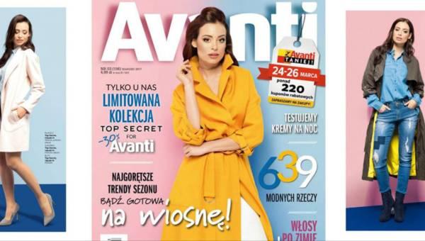 Top Secret for Avanti – płaszcze i kurtki w limitowanej kolekcji
