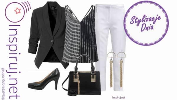 Stylizacje Dnia z inspiruj.net – zawsze modne ubrania w paski