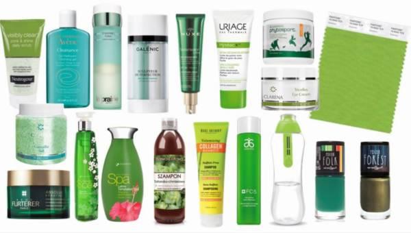 Urodowa gra w zielone – Zielone kosmetyki na topie