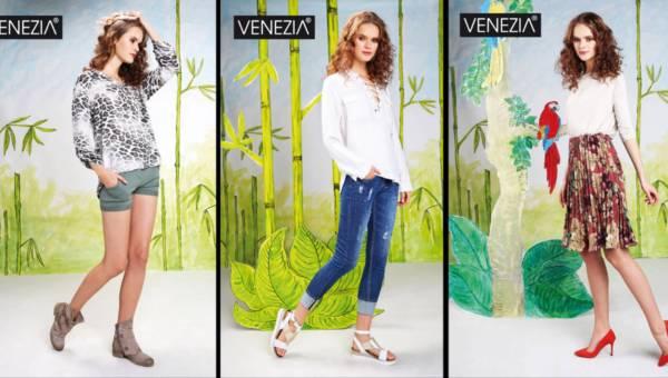 Kolekcja Venezia wiosna lato 2017 na spacer po dżungli – niekoniecznie miejskiej