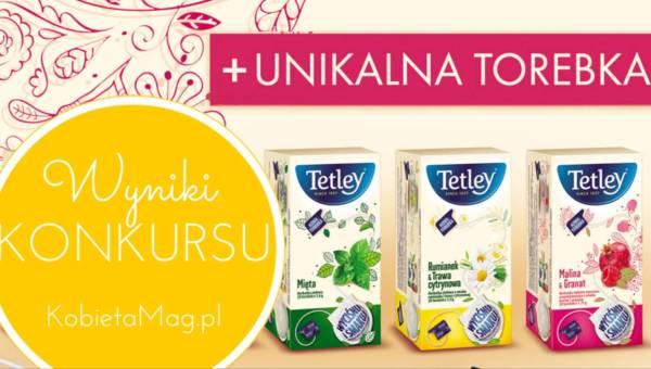 Ogłaszamy wyniki konkursu: ziołowo-owocowe herbatki Tetley na długie wieczory!