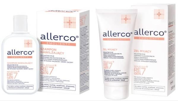 Kosmetyki ALLERCO –  w trosce o pielęgnację skóry wrażliwej podczas kąpieli