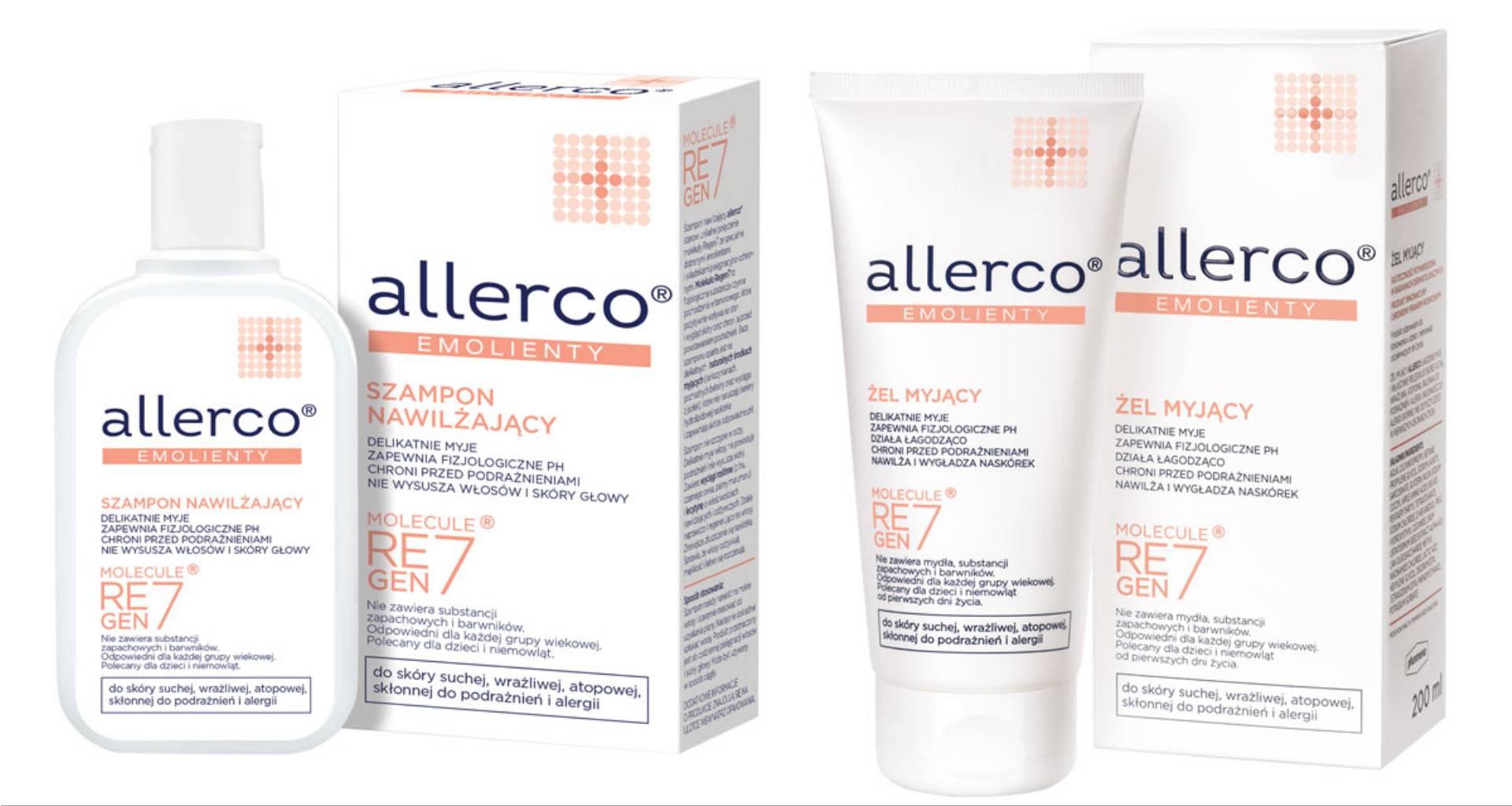 761090df681fc1 Dlatego też warto zadbać o preparaty, których skład nie podrażnia skóry. O  pomoc w tej kwestii zadbała marka allerco®, tworząc serię produktów ...