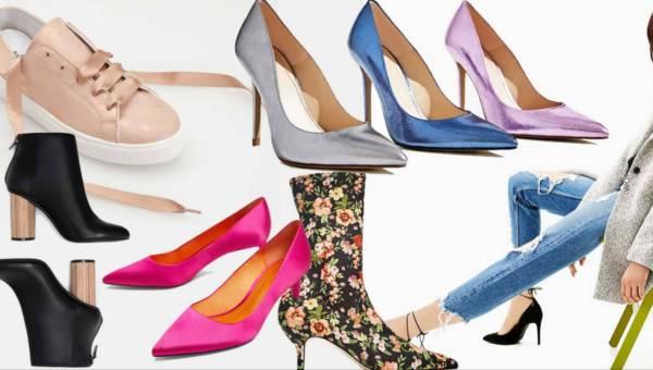 Redakcyjny przegląd: buty na wiosnę 2017 z popularnych sieciówek