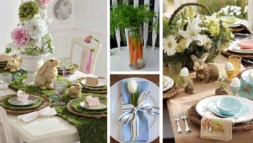 Pomysłowe dekoracje stołu na Wielkanoc – zainspiruj się!