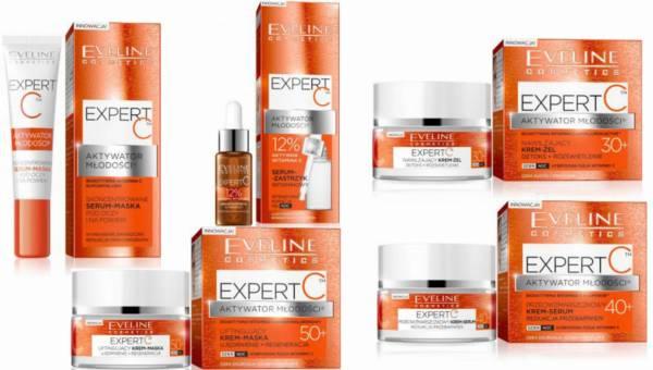 Eveline Cosmetics, Expert C aktywator młodości – kremy anti-aging