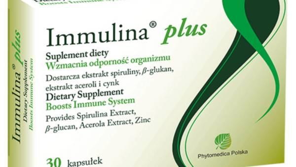 Suplement: wzmacnianie odporności z Immuliną Plus