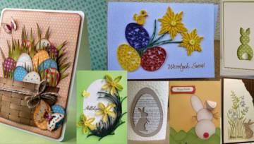 Zobacz piękne, ręcznie robione kartki wielkanocne i przygotuj własną!