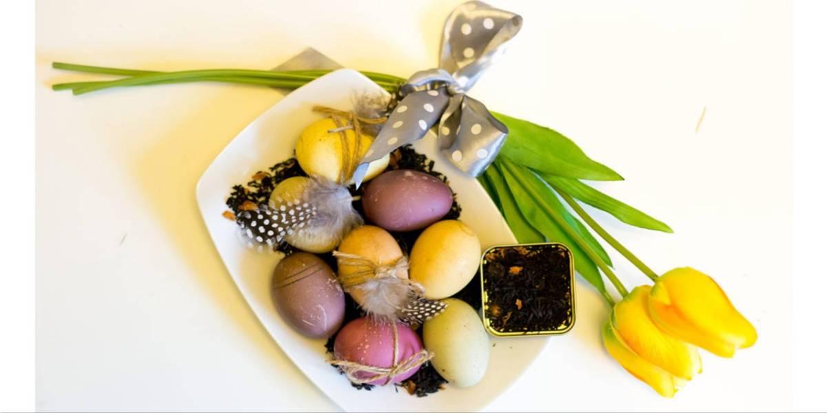 naturalne malowanie jajek