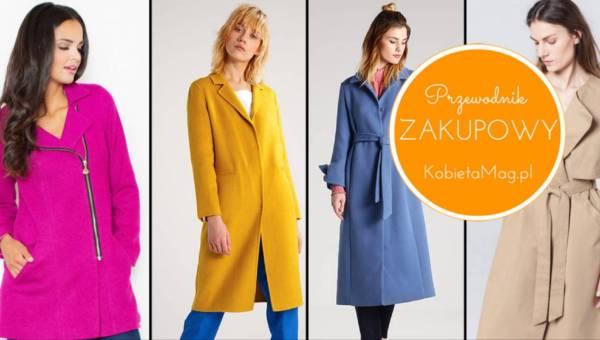 Shoppingowy przegląd: modne płaszcze na wiosnę 2017 w kolorach Pantone!