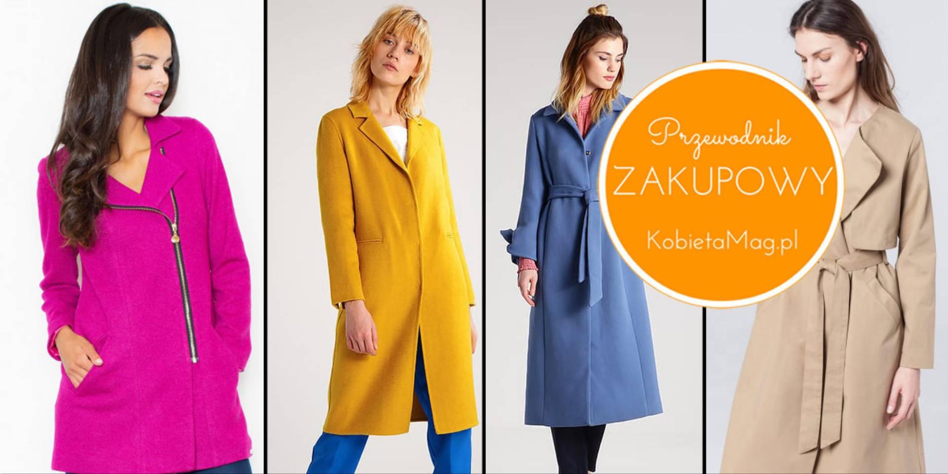 modne płaszcze na wiosnę 2017